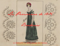La Parisienne de 1805. Broderie.