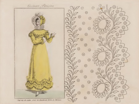 La Paridenne de 1805. Broderie.